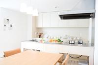 オープン型キッチン